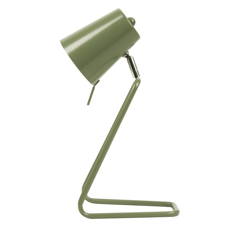 'Z' Table Lamp, Jungle Green