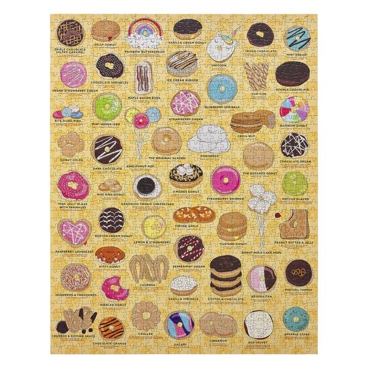 Doughnut Lovers Jigsaw Puzzle