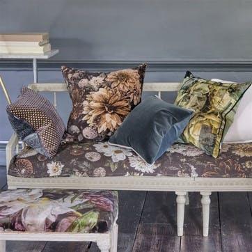 Varese Pine Velvet Cushion