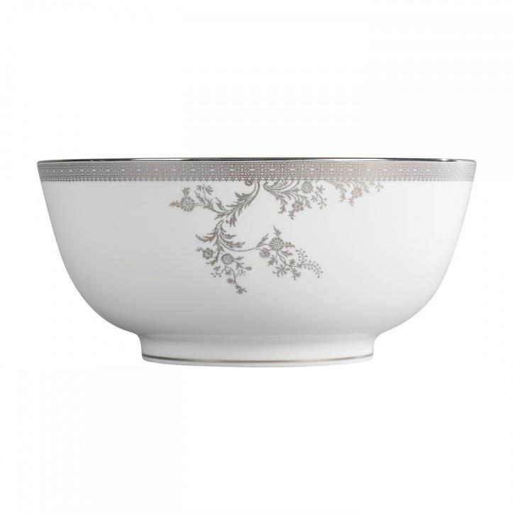 Lace Platinum Salad Bowl