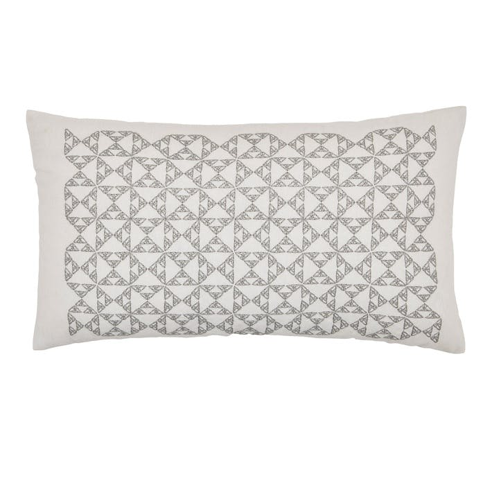 Nova Cushion, Cloud Grey