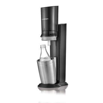 Sparkling water maker, SodaStream, Crystal, black
