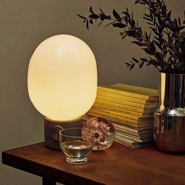 JWDA, Table Lamp, H29 x D17cm, Light Grey