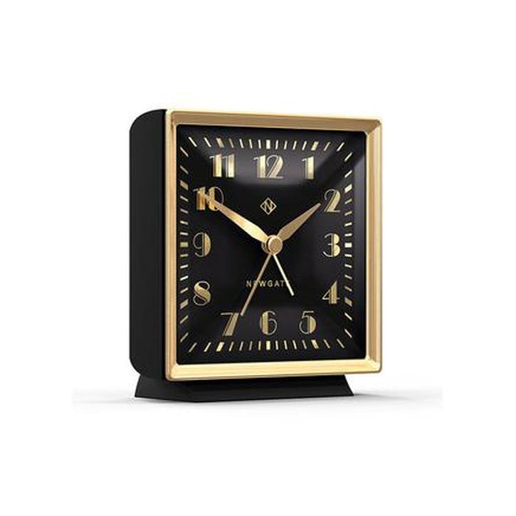 The Skyscraper Alarm Clock, Black and Gold