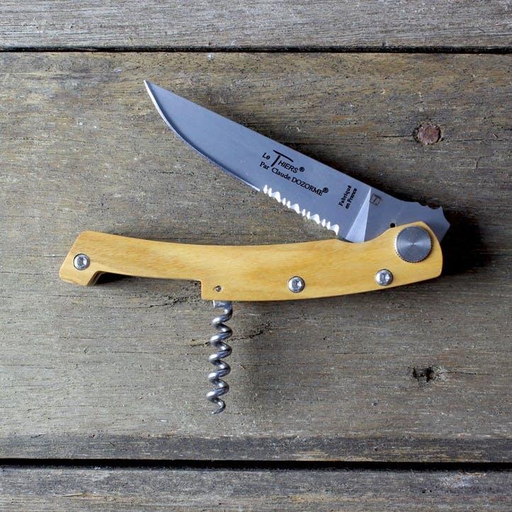 Claude Dozorme Haute Cuisine Sommelier Pocket Knife & Corkscrew