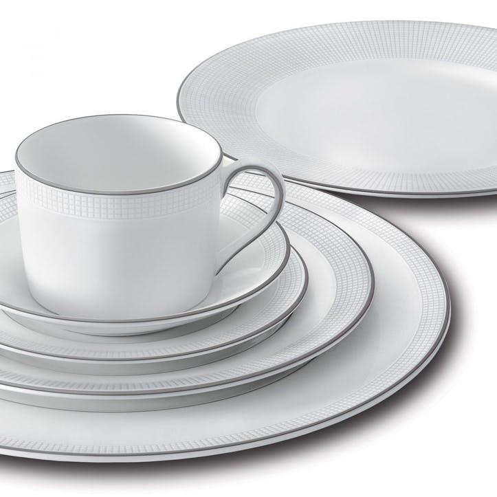 Blanc Sur Blanc Dinner Plate