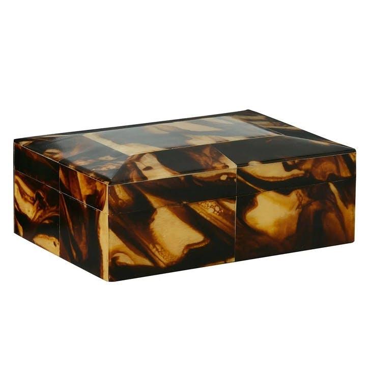 Faux Tortoiseshell Box