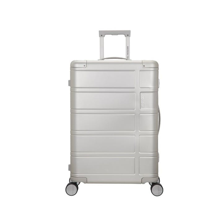 Alumo Spinner Suitcase, 67cm, Silver