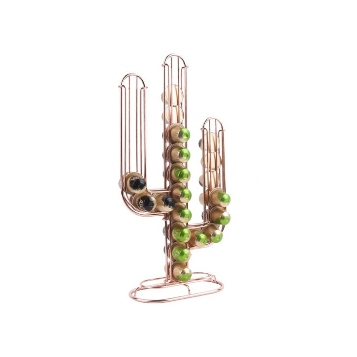 Cactus Coffee Pod Holder, Copper