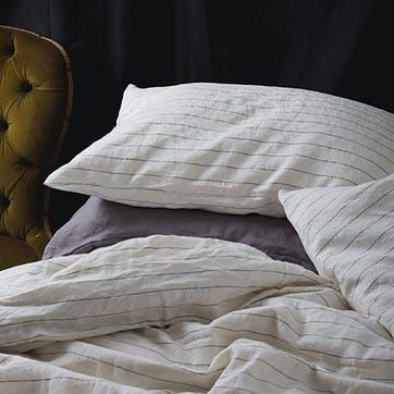 Pair of Kingsize Pillowcases Luna Stripe