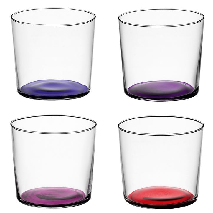 LSA Coro Tumbler, Set of 4, Berry Assorted