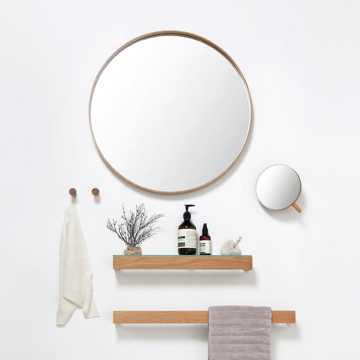 Glance Round Wall Mirror 660