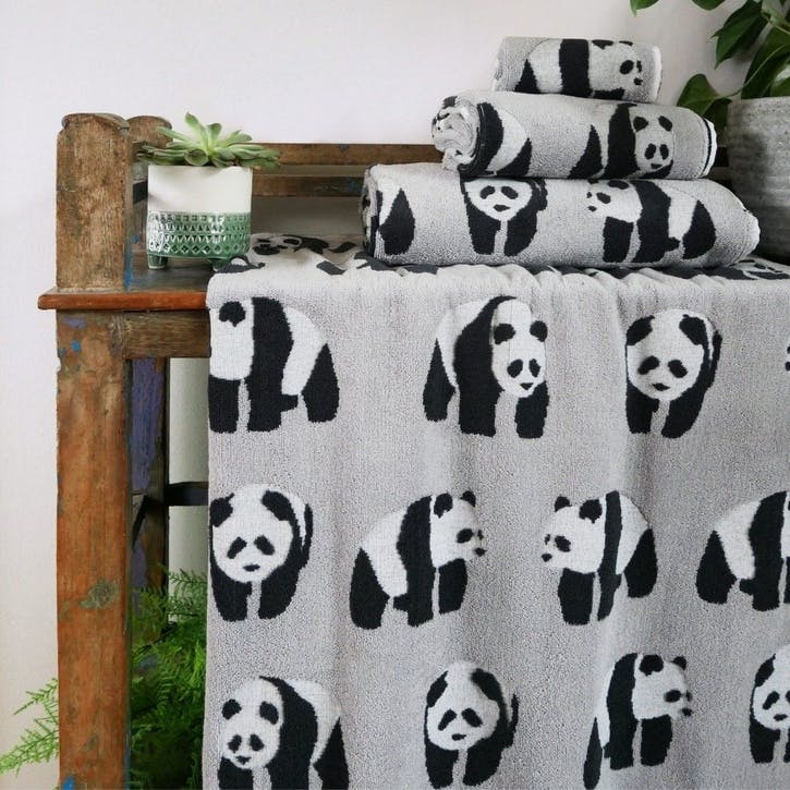 Panda Bath Towel