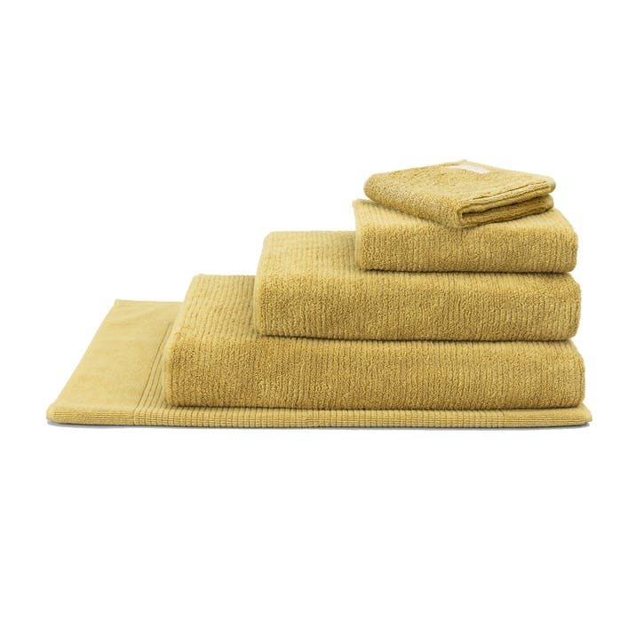Living Textures Mustard Bath Sheet