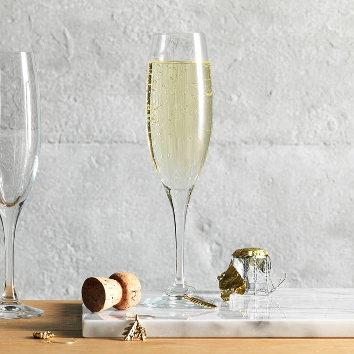 Classic Champagne Flute, Set of 4