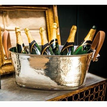 Hammered Champagne Bath - Large