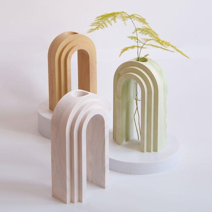 Scala Vase, Olive