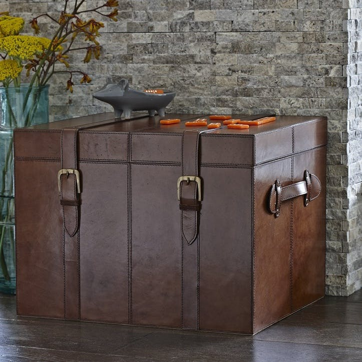 Leather Trunk, Large