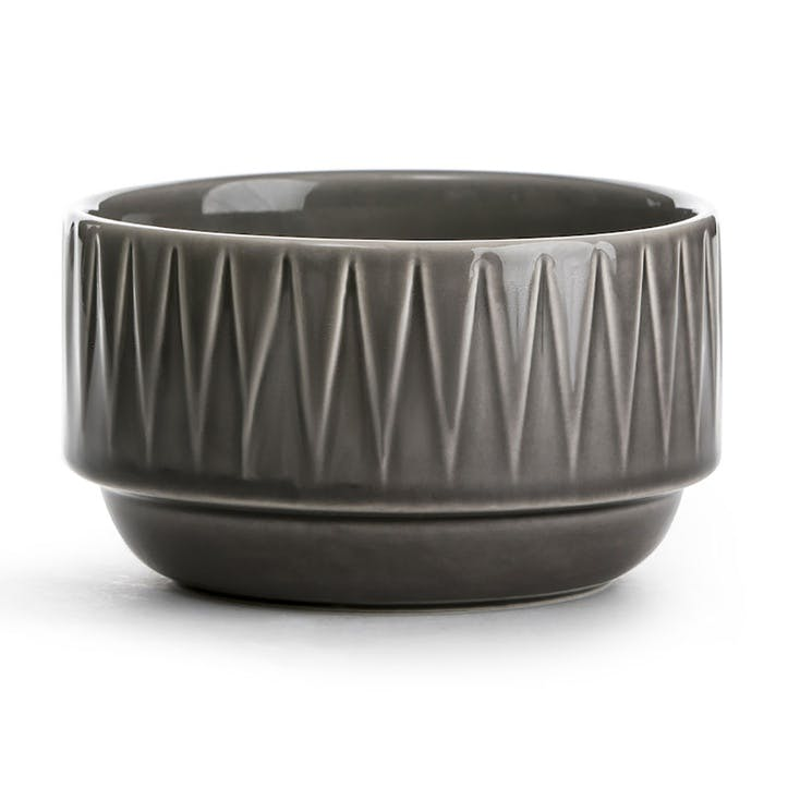 Coffee & More, Bowl, 12 cm, Grey