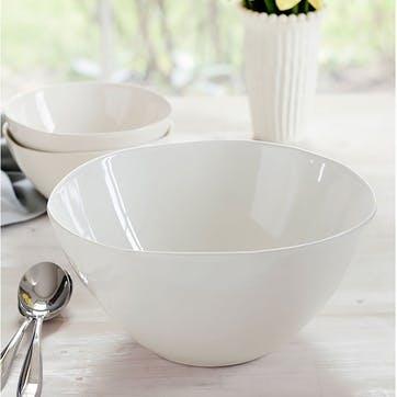 Arbor Cream Serving Bowl