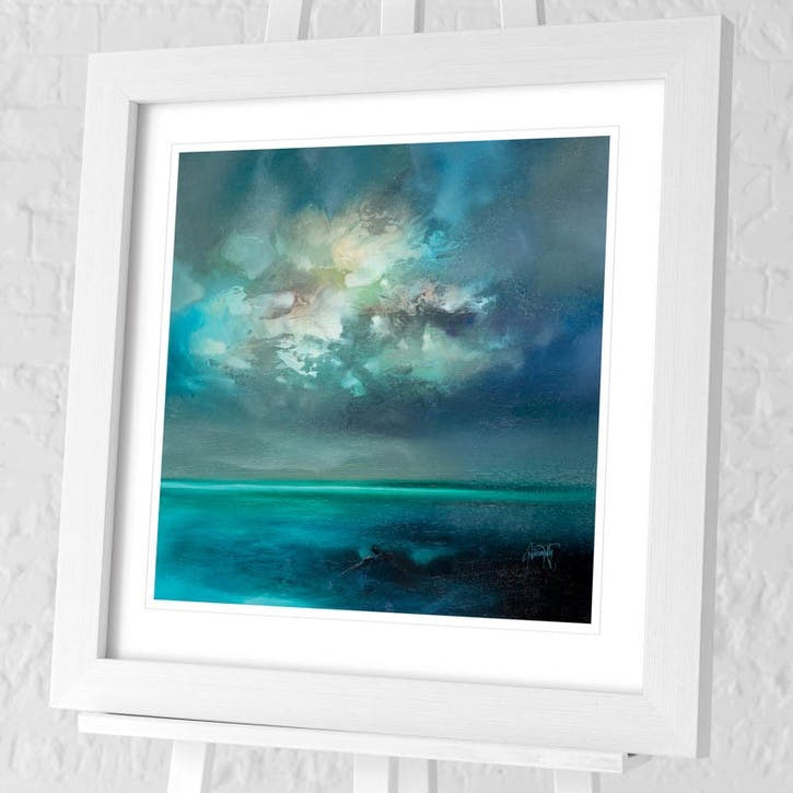 Scott Naismith Isle of Skye Emerges Framed Print, 71 x 71cm