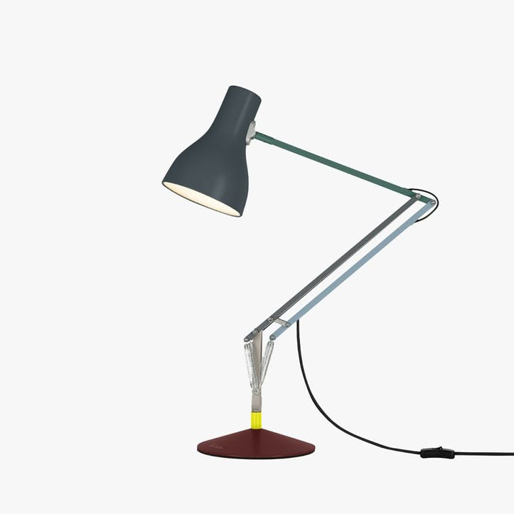 Desk Lamp Multicolours and Dark Grey