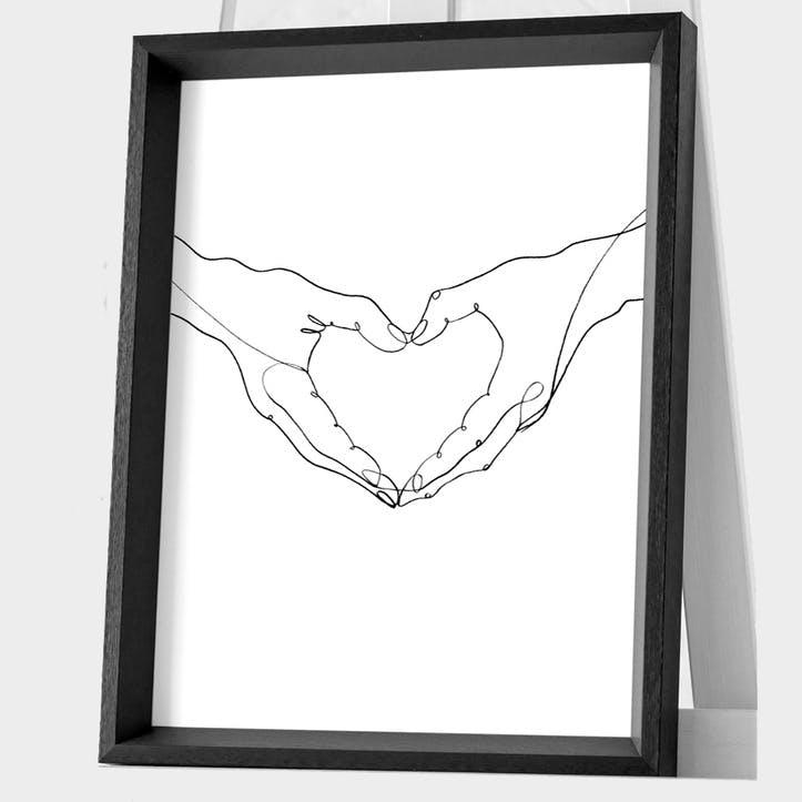 Louise Nisbet Love Framed Print, 45 x 35cm