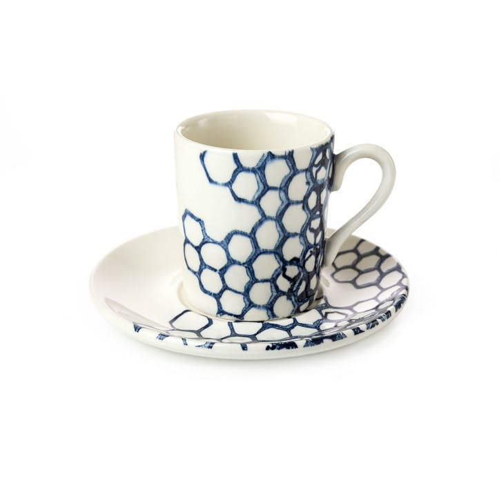 Pollen Espresso Cup and Saucer
