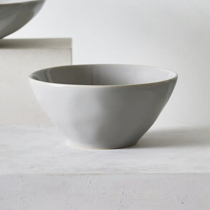 Portobello Cereal Bowl, Grey