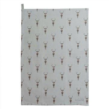'Highland Stag' Tea Towel