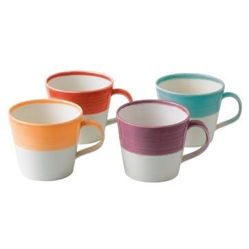 1815 Brights Mug, Set of 4