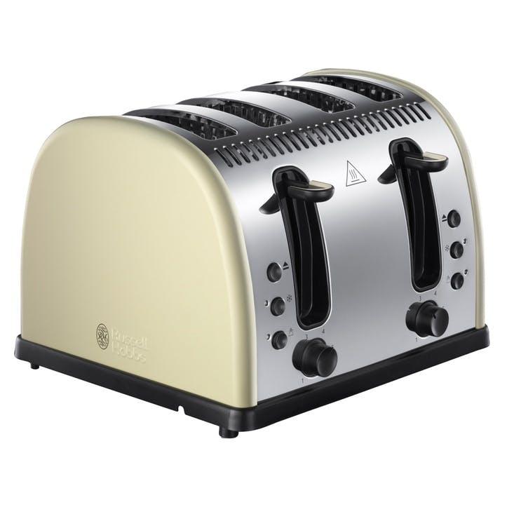 Legacy Toaster 4 Slot; Cream