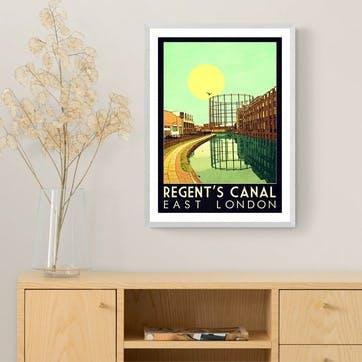 Indie Prints, Regent's Canal Framed Art Print