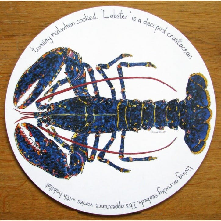 Blue Lobster Tablemat - 28cm