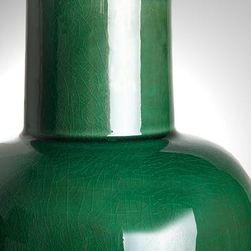 Lolita Table Lamp With An Emerald Glaze