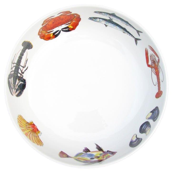 Fish & Shellfish Round Bowl - 28cm
