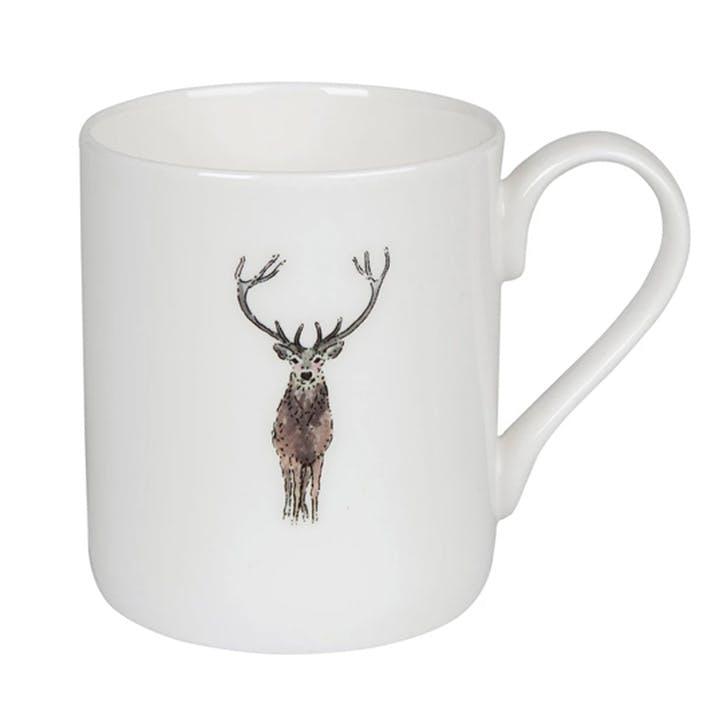 'Highland Stag' Solo Mug, Standard