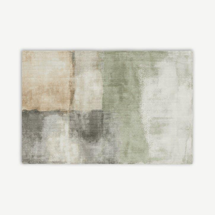 Rimoldi rug, H82 x W210 x D88cm, Grey & Green