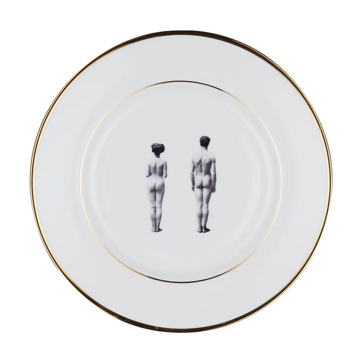 Modern Surrealist The Models Side Plate