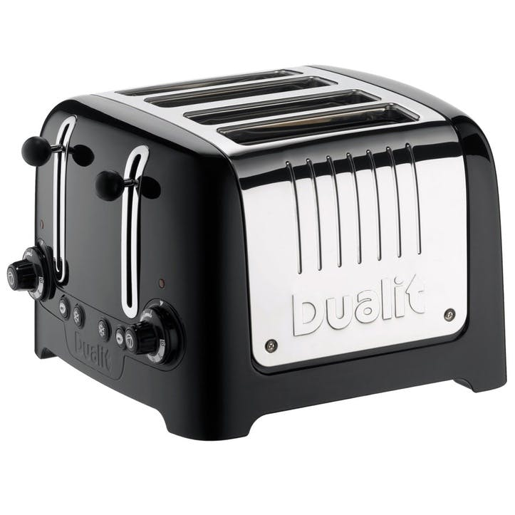 Lite Toaster, 4 Slot; Black