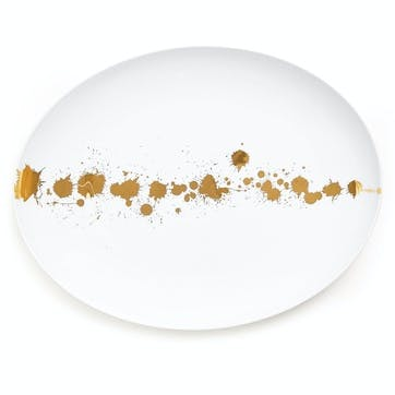1948' Oval Serving Plate