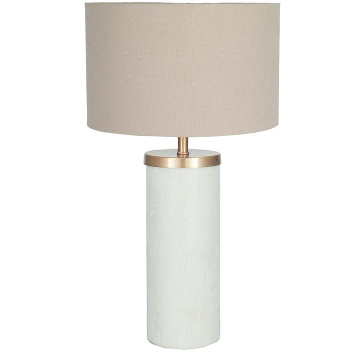 Harper Solid Marble Table Lamp