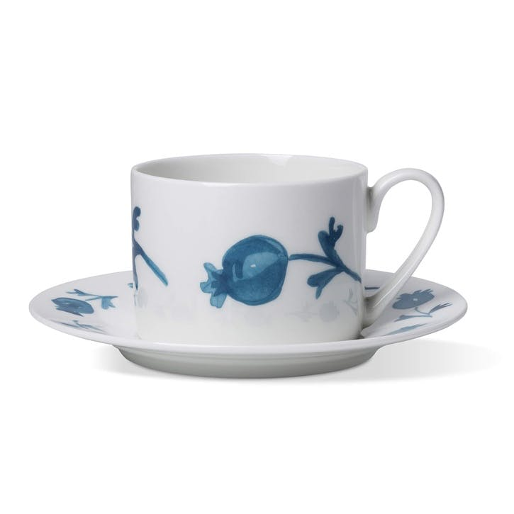 Rose Hip Coffee Cup & Saucer