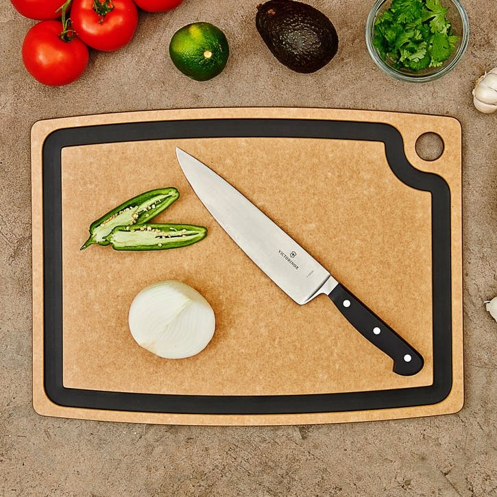 Chopping Board, L44 x W33cm, Natural and Slate