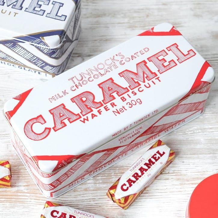 Gillian Kyle Tunnock's Caramel Wafer Rectangle Tin