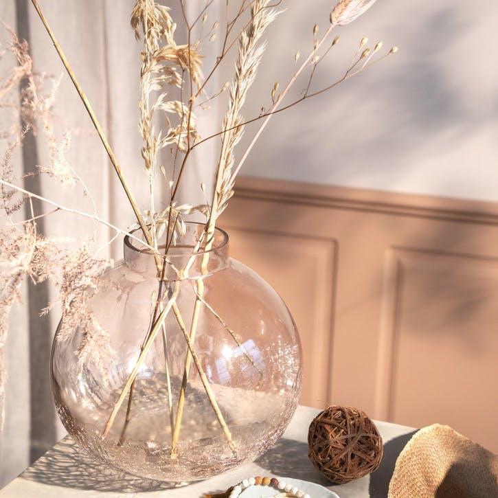 Pink Globe Vase