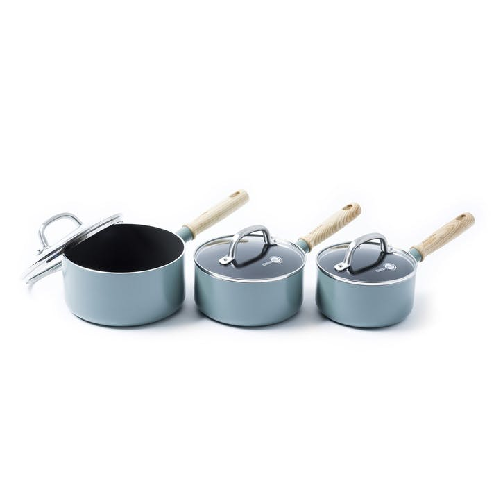 Mayflower 3pc Saucepan Set with Lids