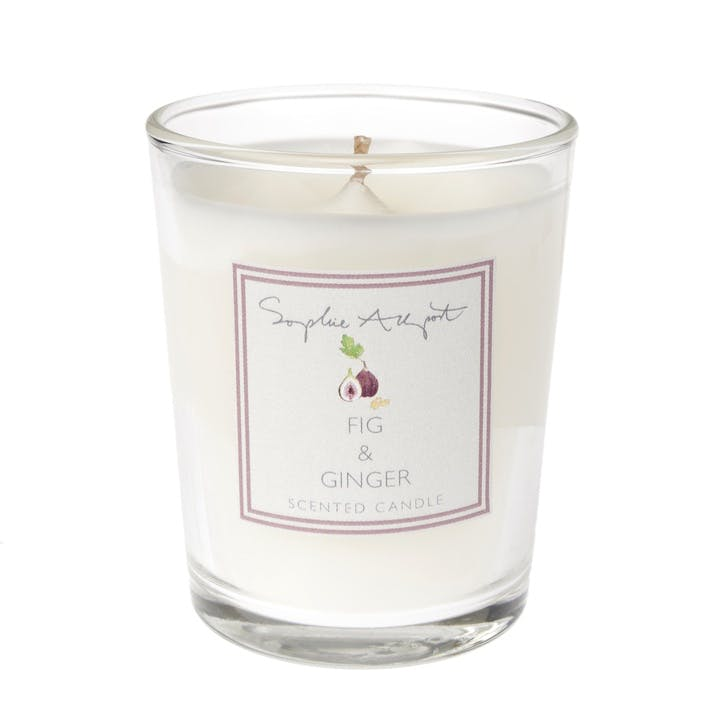 Fig & Ginger Scented Candle