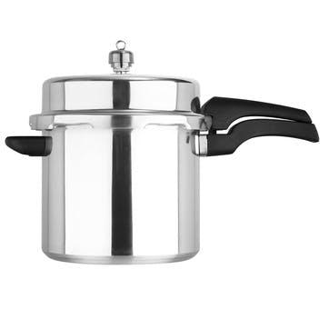 Aluminium High Dome Pressure Cooker, 6L