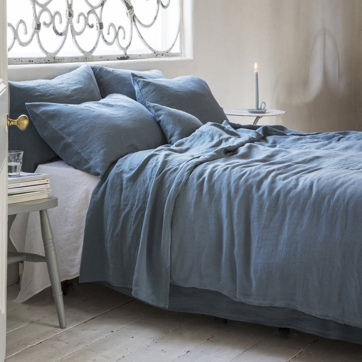 Duvet Cover, Double, Parisian Blue